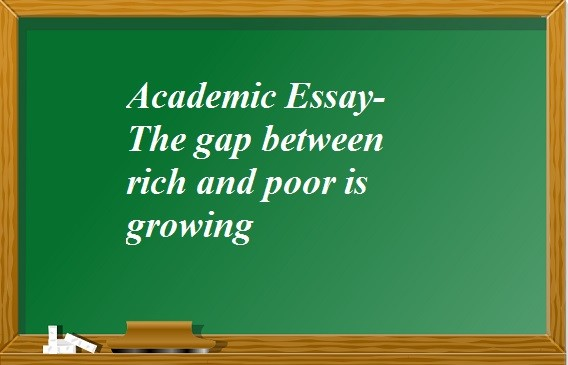 difference between poor and rich essay