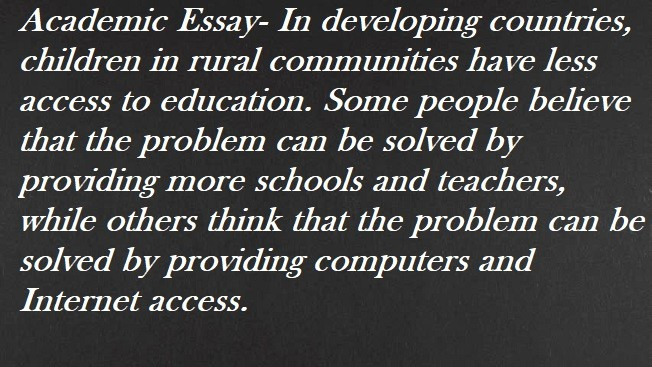 essay in developing countries children in rural communities have essay in developing countries children in rural communities have less access to education