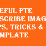 Useful PTE Describe Image Tips, Tricks & Template